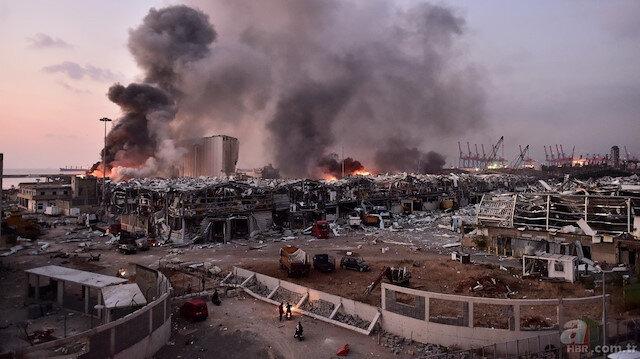 Beyrut'taki patlamayla ilgili korkunç detay: 60'dan fazla kişi kayıp