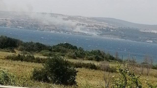 Gelibolu'da yangın: Çok sayıda ekip bölgeye sevk edildi