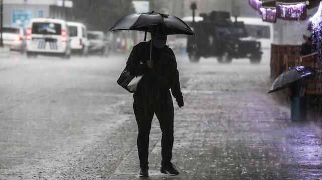 Meteoroloji 'kuvvetli yağışa' karşı uyardı