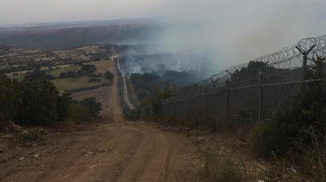 Bulgaristan'da dört gündür söndürülemeyen yangın Türkiye sınırına ulaştı