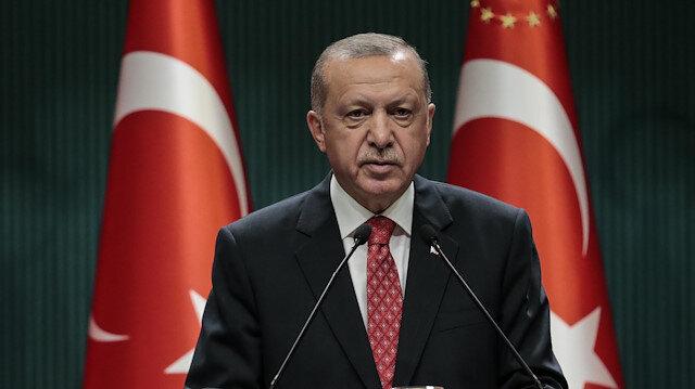 Cumhurbaşkanı Erdoğan: Bizi sahillerimize hapsetme girişimine rıza göstermeyeceğiz