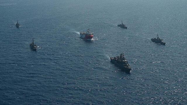 Akdeniz'deki Yunan-Rum-Mısır kuşatmasına Türkiye'den yanıt: Oruç Reis