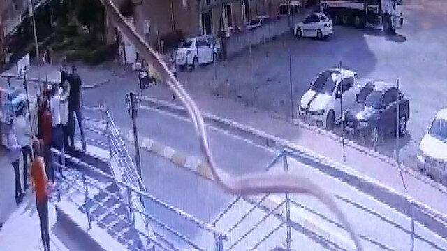 Esenyurt'taki bir rezidans önünde silahlı kavga: 1 yaralı, 7 gözaltı