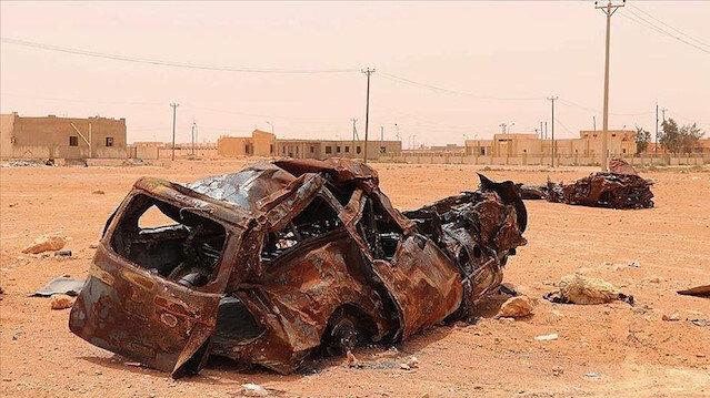 Libya'da Hafter'in askeri yığınakları devam ediyor