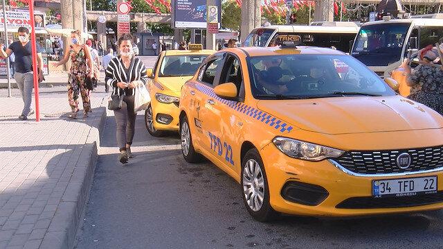 Korsan taksicilerden pes dedirten yöntem: Aylık 10 bin lira ilanıyla çalışacak şoför arıyorlar