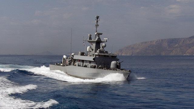 Meis Adası çevresinde hareketlilik: Türk hücumbotu Kaş'a, Yunan hücumbotu Meis Adası'na yanaştı