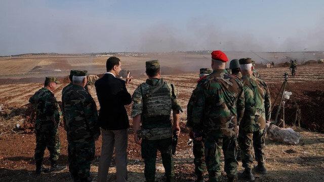 Esed İdlib'e 'askeri yığınak' gönderdi: Rus kuvvetlerin çektiği 'Kaplan Güçleri' adı verilen 5. Lejyon ile Lübnanlı eski askerler de bulunuyor