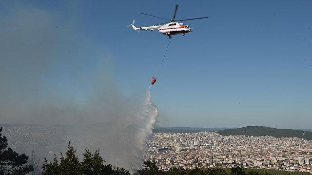 İstanbul Valiliği açıkladı: Aydos Ormanı'nda 4 farklı noktada çıkan yangın kontrol altına alındı