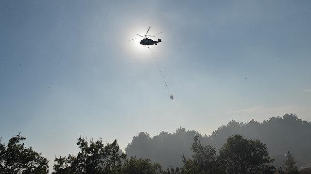 Aydos Ormanlarında çıkan yangın kontrol altına alındı