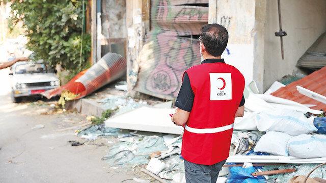 Beyrut birkaç ayda toparlanır