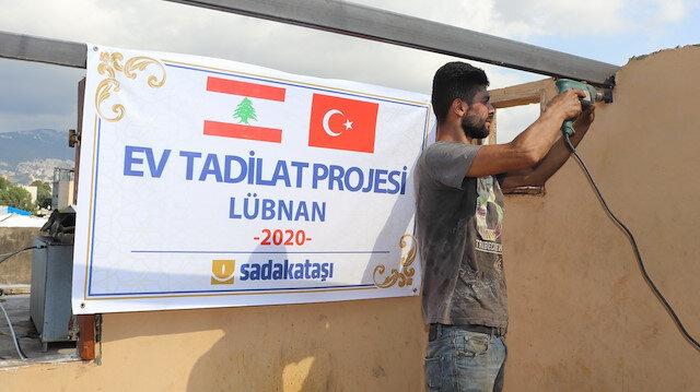 Türkiye Lübnan'da yaraları sarıyor