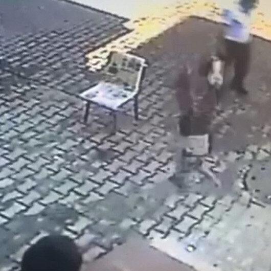Esenyurtta feci olay: Beş yaşındaki çocuğun dördüncü kattan düştüğü anlar kamerada