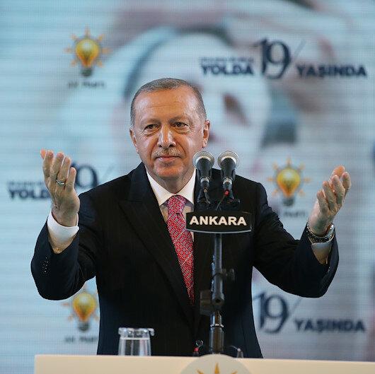 Cumhurbaşkanı Erdoğan: Bu partinin kurucusu bizatihi milletimizin kendisidir