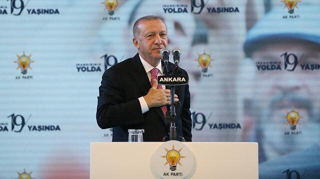 Cumhurbaşkanı Erdoğan: Bizim hareketimiz Allah kelamını ve Onun Nebisini rehber edinmiştir