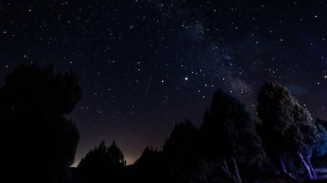 Kütahya'da perseid meteor yağmuru gözlemlendi
