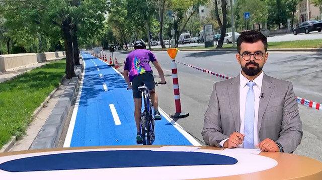 Alman DW kanalından Yavaş'ın 900 metrelik bisiklet yoluna övgü