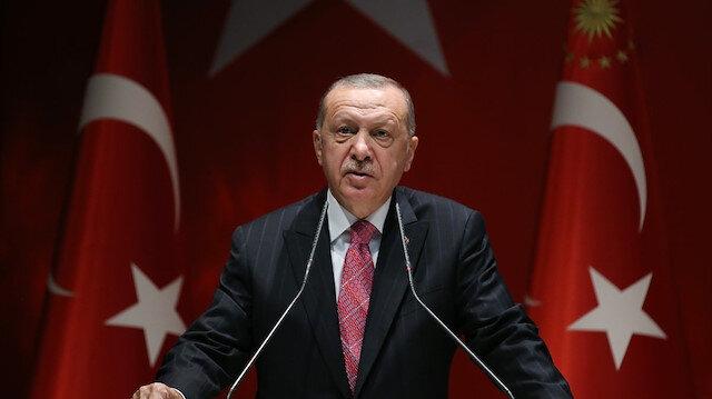 Cumhurbaşkanı Erdoğan'dan Yunanistan'a net mesaj: Hakkımızı yedirmeyiz