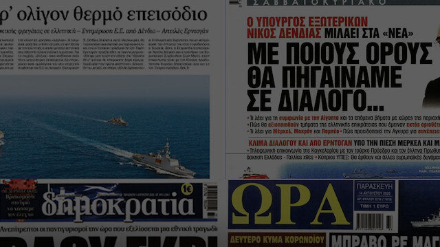 Yunanistan'ın tek gündemi: Oruç Reis