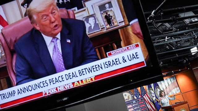 Trump İsrail-BAE anlaşmasını duyurdu