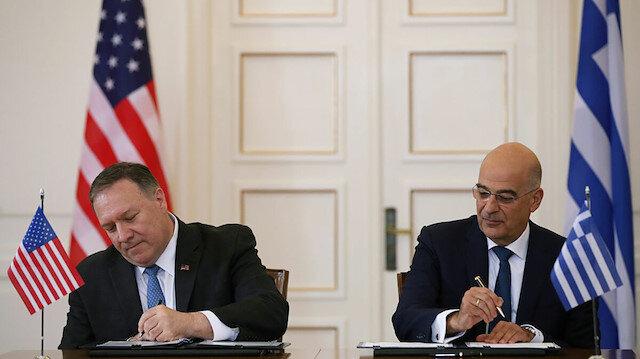 Yunan şimdi de ABD'ye sığındı: Türkiye'yi Doğu Akdeniz için Pompeo'ya şikayet edecekmiş