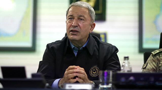 Milli Savunma Bakanı Akar: Hiçbir müdahale karşılıksız kalmadı ve kalmayacak