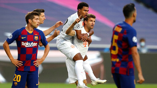 Bayern Münih 8-2 Barcelona (Maç özeti ve golleri izle)