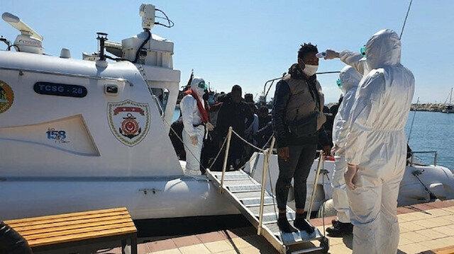 Yunanistan tarafından Türk kara sularına geri itilen 26 sığınmacı kurtarıldı