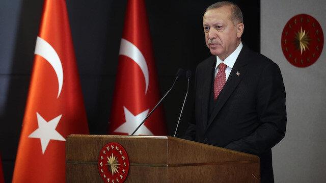 Cumhurbaşkanı Erdoğan: Mavi Vatanı kararlılıkla koruyacağız