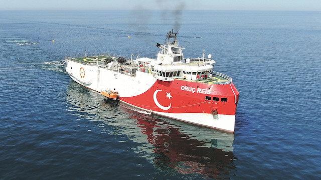 Oruç Reis'in sismik karnesi: Akdeniz'in röntgenini çekti