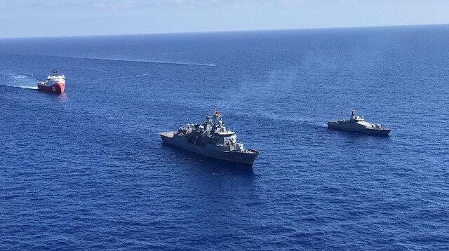 Milli Savunma Bakanlığından Kemalreis açıklaması: Barbaros Hayrettin Paşa araştırma gemimize refakat ediyor
