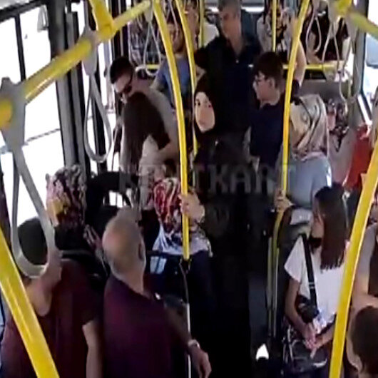 Sivasta otobüste kalp pili duran çocuğu otobüs şoförü hastaneye böyle yetiştirdi