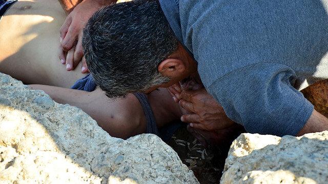 Oğluna suni teneffüs yapan babanın feryadı yürekleri dağlamıştı: Acı haber geldi
