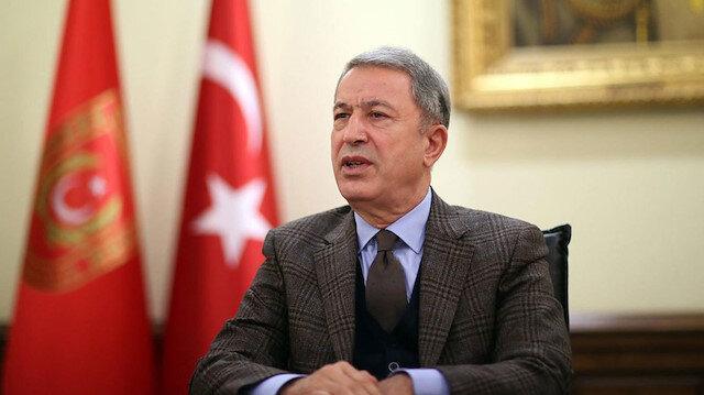 Bakan Akar'dan Libya açıklaması: Halkın refahı için tüm gayreti göstereceğiz
