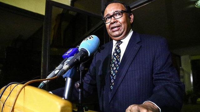 """""""İsrail"""" açıklaması Sudanlı sözcüyü görevinden etti"""