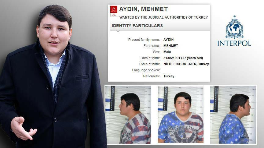 Çiftlik Bank firarisi Mehmet Aydın, INTERPOL'ün en çok arananlar listesinde yer alıyor.