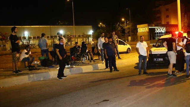 Polis kavga ihbarı üzerine gitti dizi çekildiği ortaya çıktı
