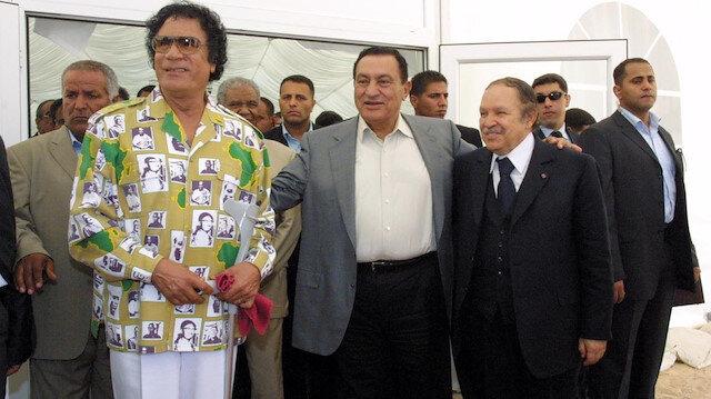 Kuzey Afrika'nın devrik liderleri