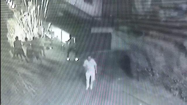 Büyükçekmece'de bir kişinin öldüğü silahlı kavga kamerada