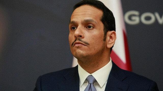 Katar başkenti Kudüs olan bir Filistin devletini desteklediğini yineledi