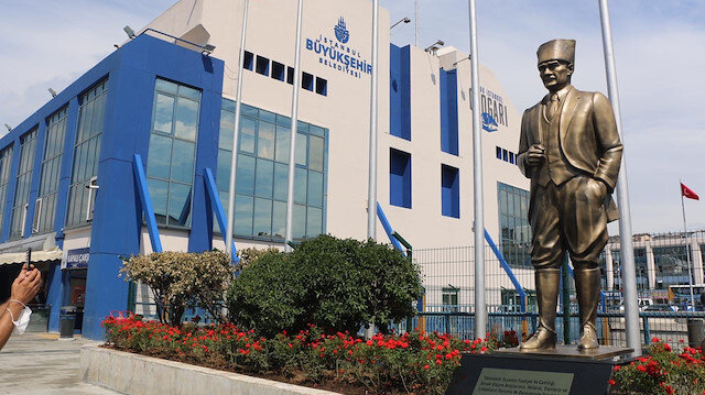 İBB'den 15 Temmuz Şehitler Otogarı'na Atatürk heykeli