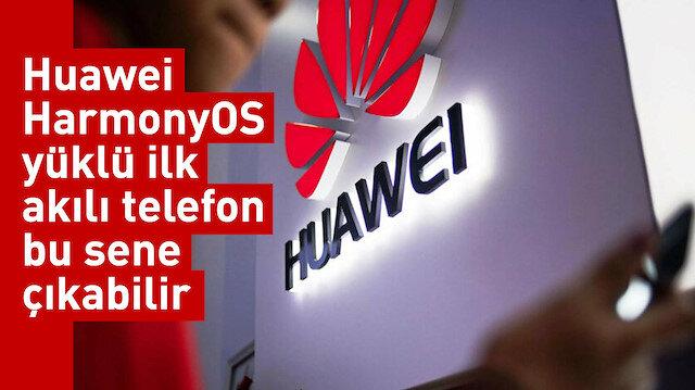 Huawei HarmonyOS yüklü ilk akılı telefon bu sene çıkabilir