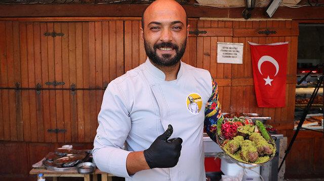 Gaziantepli ustadan fıstıklı kebap: Yiyen bir daha vazgeçemiyor