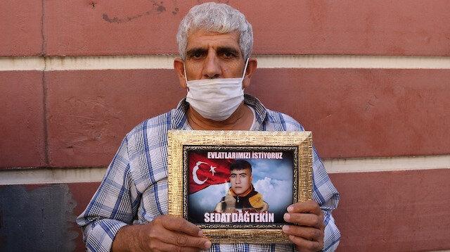 HDP önündeki ailelerin evlat nöbeti 355'inci gününde: Gelsin, adalete teslim olsun