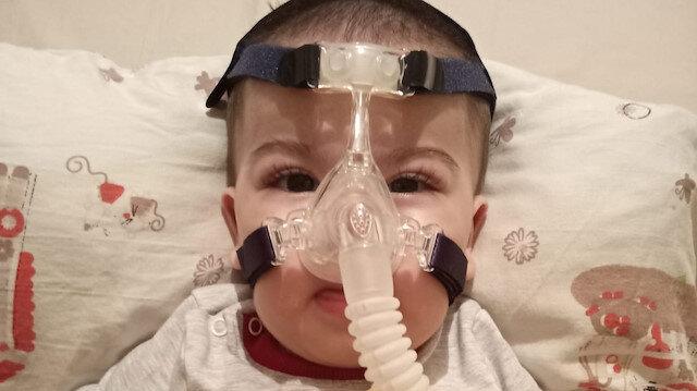 SMA hastası minik Ali Osman yardım bekliyor