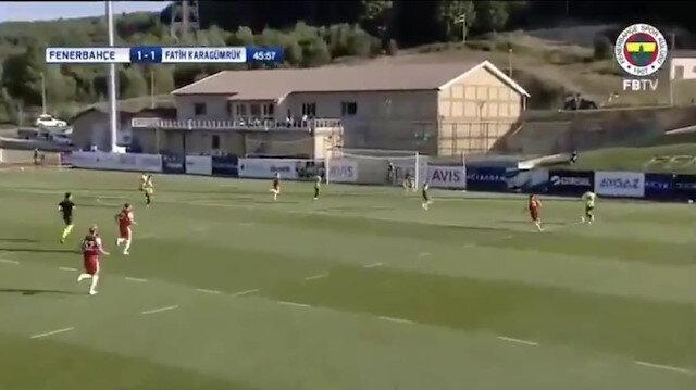 Mert Hakan Yandaş Fenerbahçe formasıyla ilk golünü attı