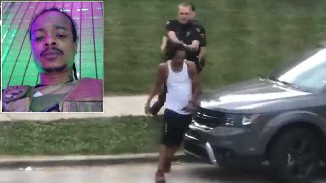 ABD'de ikinci George Floyd olayı: Polis arkası dönük siyahi vatandaşa 7 el ateş etti