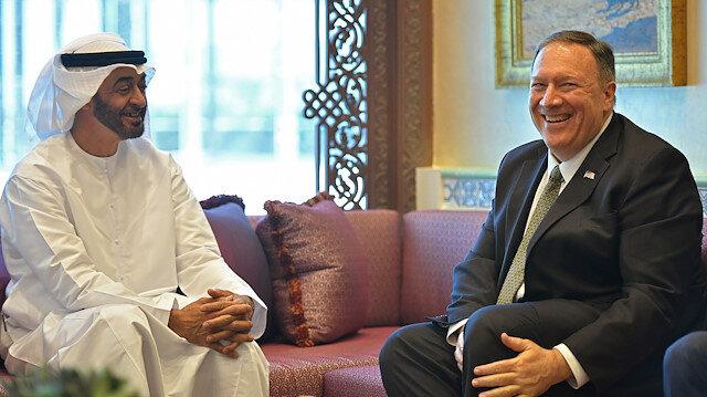 Aralarından su sızmıyor: Pompeo ve Zayed ikili ilişkileri ve İsrail'le anlaşmayı görüştü