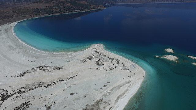 Salda Gölü'ndeki beyaz kumun sırrı