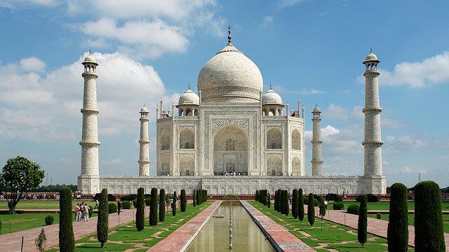 Taştan bir şiir: Tac Mahal