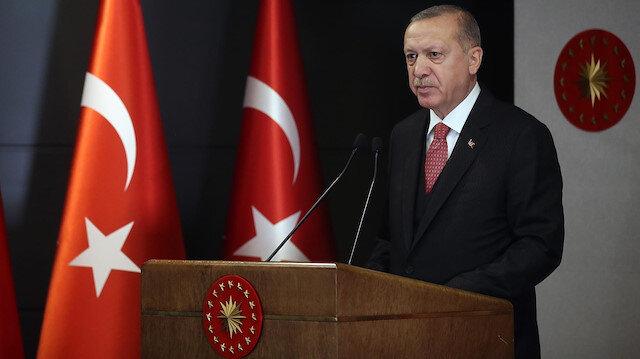 Cumhurbaşkanı Erdoğan'ın 30 Ağustos mesajında Doğu Akdeniz vurgusu: Tereddüt göstermeyeceğiz!